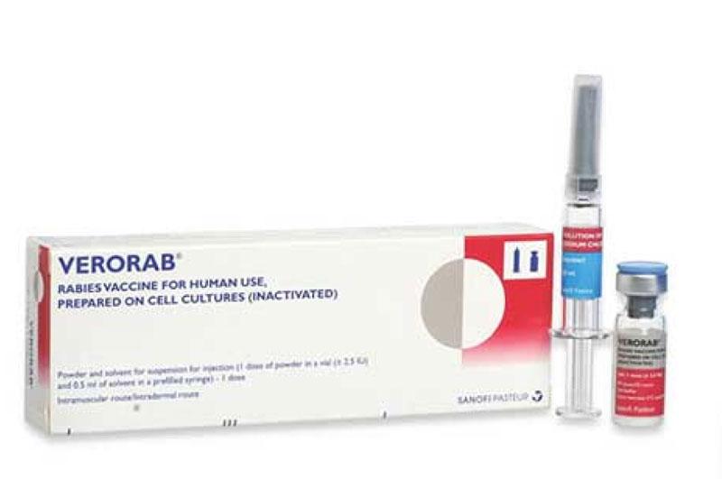 VERORAB – Vắc xin phòng dại