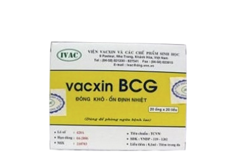 BCG – Vắc xin phòng Lao