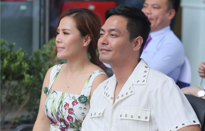 MC Phan Anh và vợ