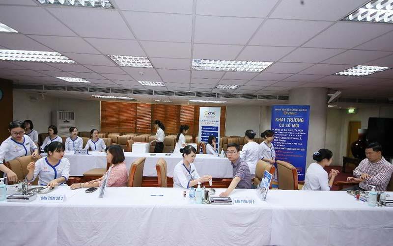 VNVC đồng hành cùng Vietinbank chăm sóc sức khỏe cho cán bộ nhân viên