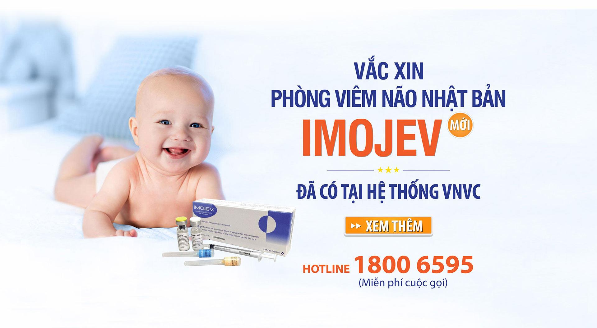Vắc xin phòng viêm não Nhật Bản Imojev