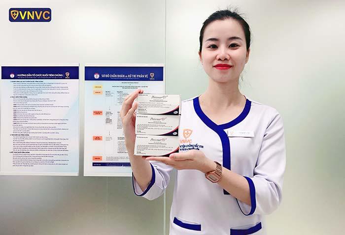 Vắc xin Prevenar 13 phòng viêm phổi, viêm màng não, viêm tai giữa
