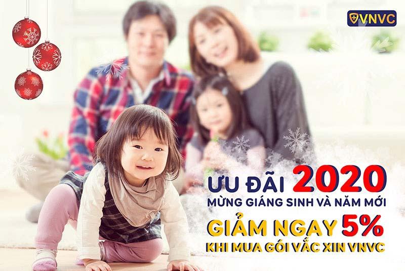 Chào đón VNVC Cần Thơ, rộn ràng mùa lễ hội: VNVC ưu đãi 5% Gói Vắc Xin