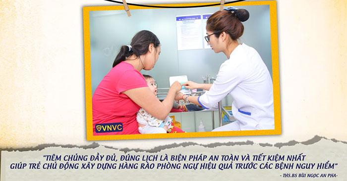 Tiêm phòng đầy đủ, đúng lịch là phương pháp giúp trẻ phòng ngừa các bệnh nguy hiểm