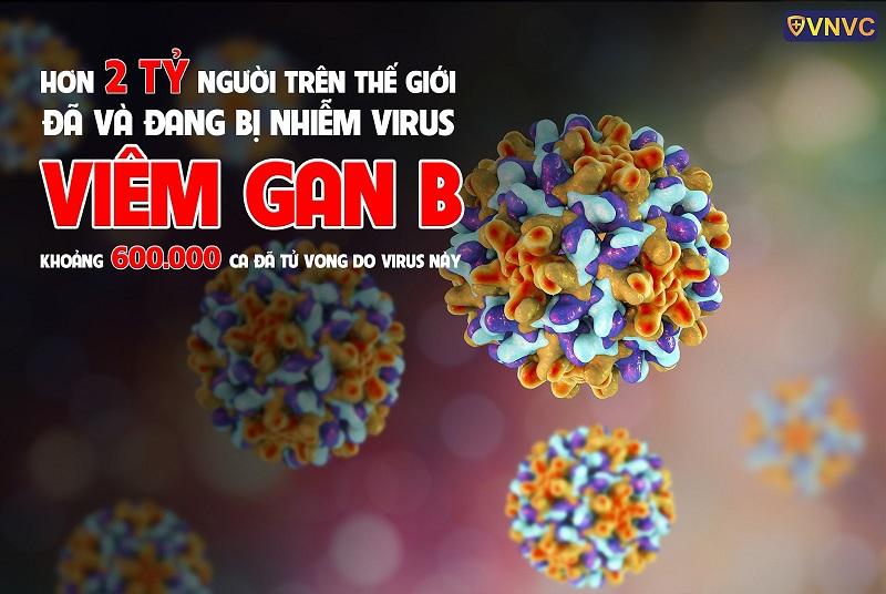 Thế giới có 600000 ca tử vong do virus viêm gan B