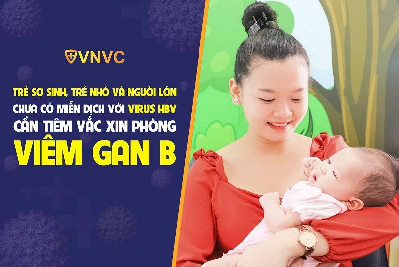 Tiêm vắc xin phòng viêm gan B để miễn dịch với virus HBV