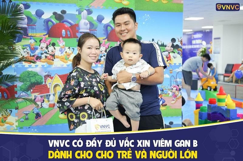 VNVC có nhiều loại vắc xin được nhập khẩu từ các nhà sản xuất uy tín trên thế giới