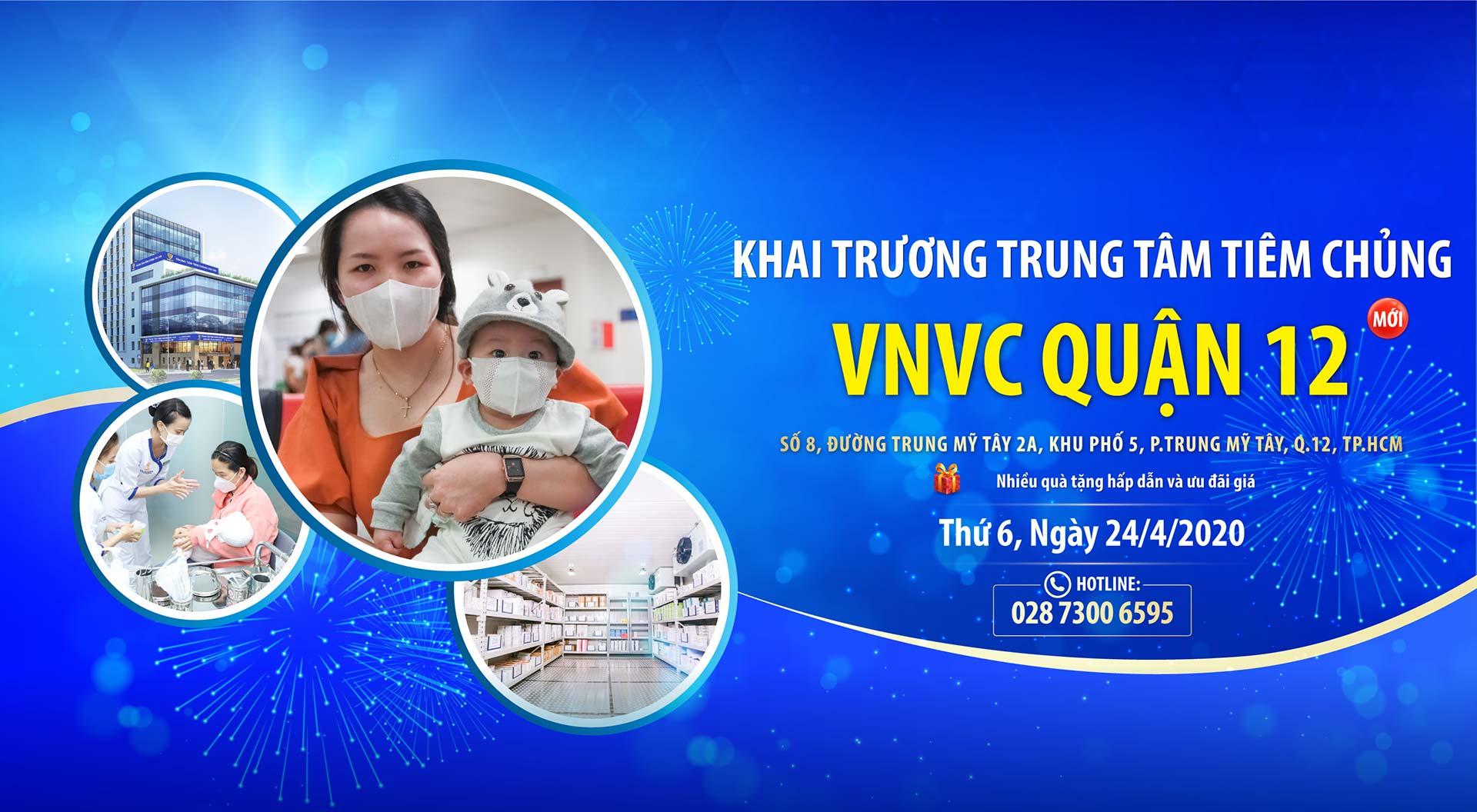 Khai trương trung tâm tiêm chủng VNVC quận 12 desk1