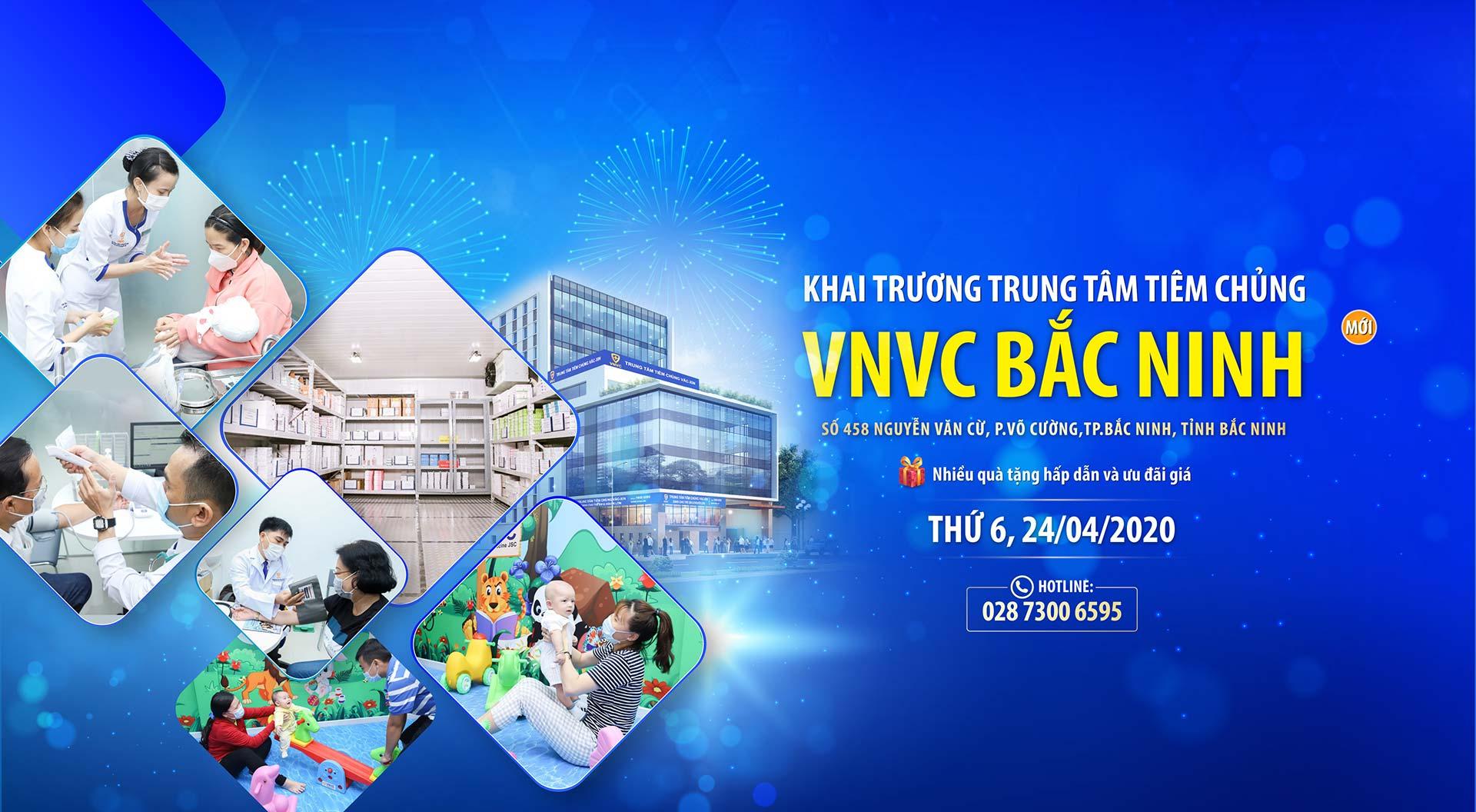 Khai trương VNVC Bắc Ninh desk