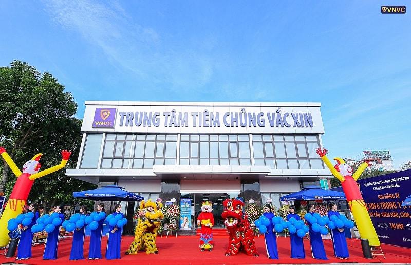 Hình ảnh khai trương trung tâm VNVC Ninh Bình 1