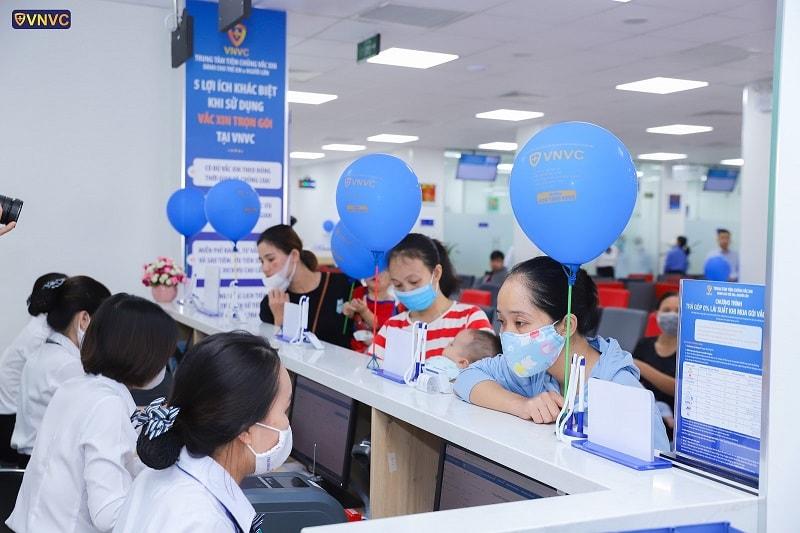 Khai trương trung tâm VNVC Vĩnh Yên - Vĩnh Phúc (2)