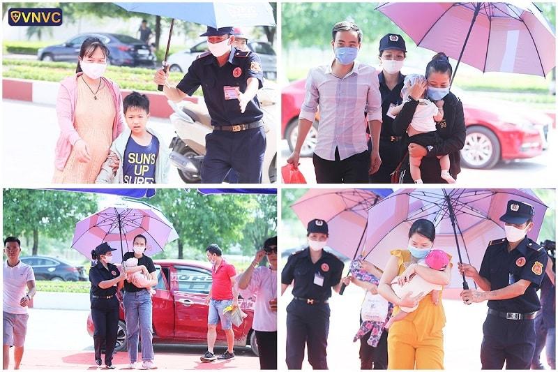 VNVC Ninh Bình đón những vị khách đầu tiên