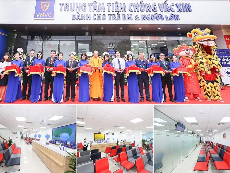 VNVC là trung tâm tiêm chủng lớn nhất Thái Nguyên