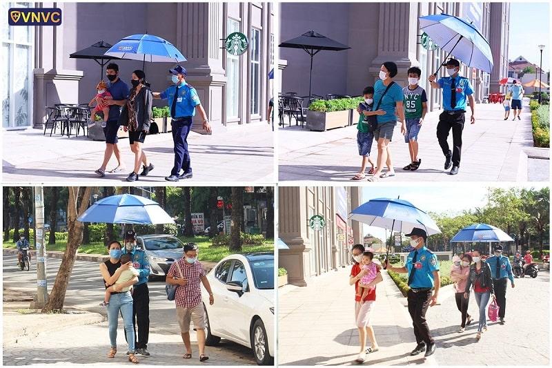 VNVC Trung Sơn - Bình Chánh đón tiếp khách đến buổi khai trương