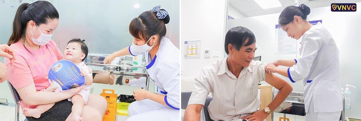 VNVC đảm bảo có đủ số vắc xin
