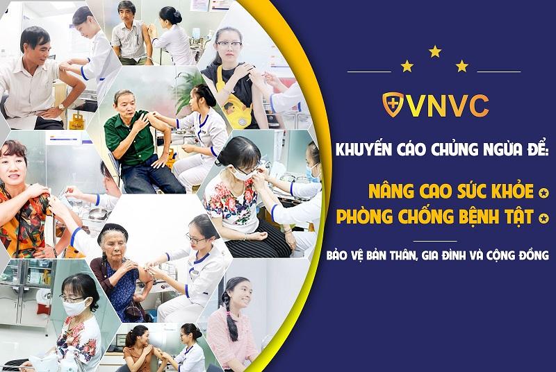 VNVC khuyến cáo nên tiêm chủng ngừa để nâng cao sức khỏe