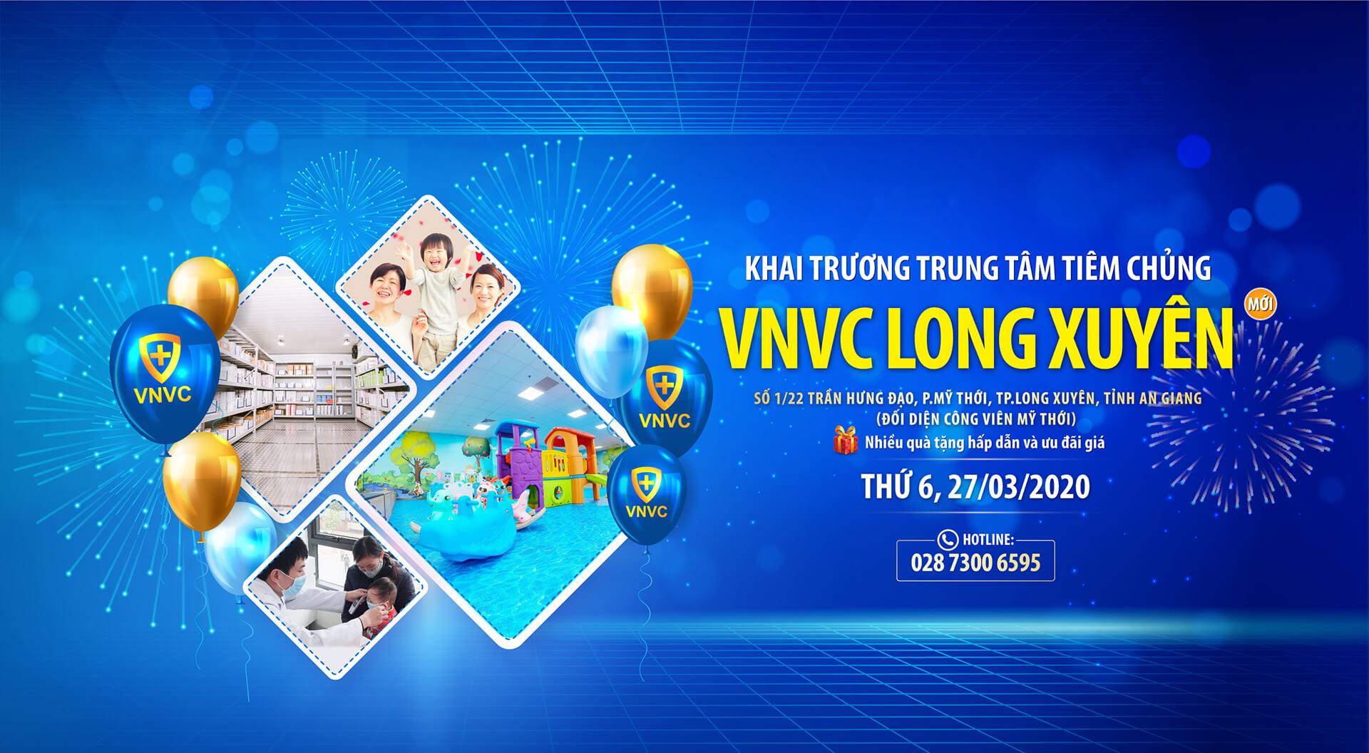 Khai trương VNVC Long Xuyên (1)