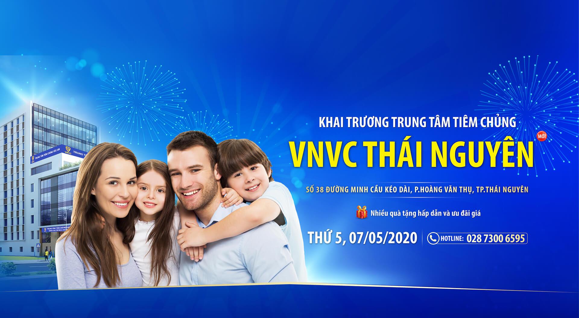 Khai trương VNVC Thái Nguyên Desk