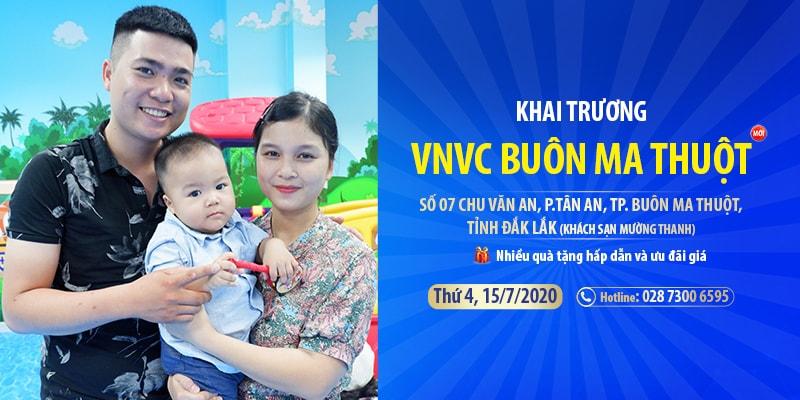 Buôn Ma Thuột lần đầu có trung tâm tiêm chủng 5 sao VNVC