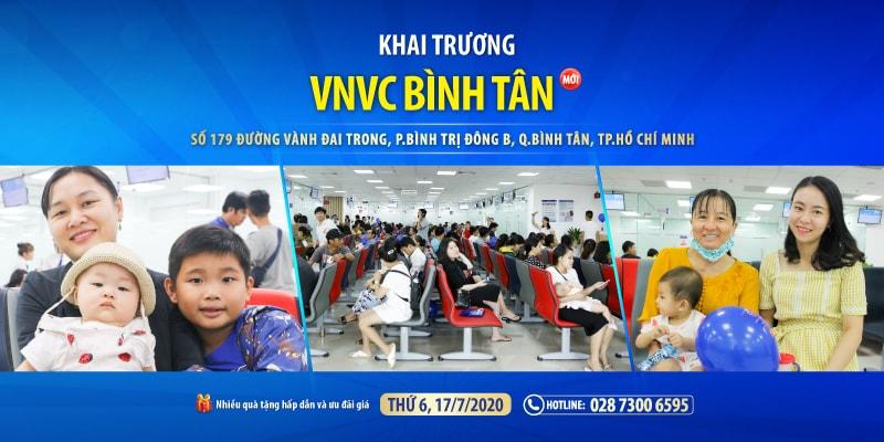 TP.Hồ Chí Minh có trung tâm tiêm chủng VNVC thứ 7 tại Bình Tân