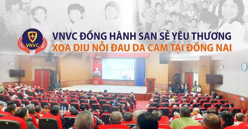 VNVC tài trợ khám sức khỏe nhạn nhân chất độc màu da cam tại tỉnh Đồng Nai (1)