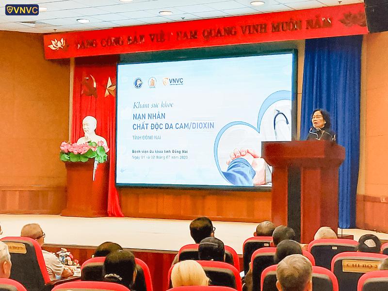 VNVC tài trợ khám sức khỏe nhạn nhân chất độc màu da cam tại tỉnh Đồng Nai (3)