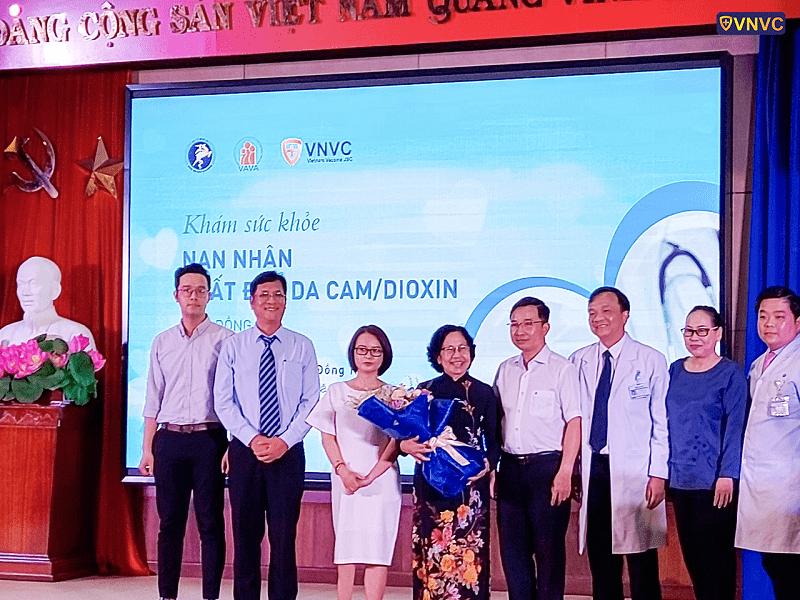 VNVC tài trợ khám sức khỏe nhạn nhân chất độc màu da cam tại tỉnh Đồng Nai (4)