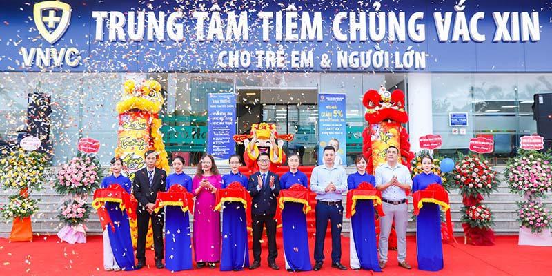 VNVC khai trương trung tâm tiêm chủng lớn nhất Bắc Giang