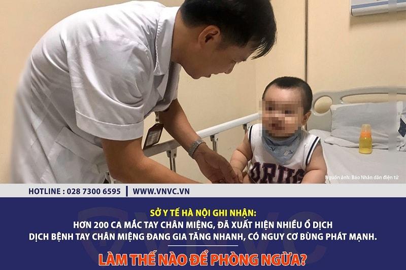 Có vắc xin phòng bệnh Tay – Chân – Miệng không?