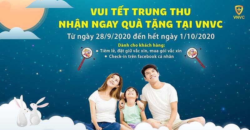 """Món quà """"cổ tích"""" mùa trăng tại VNVC – Tiêm ngay nhận quà liền tay"""