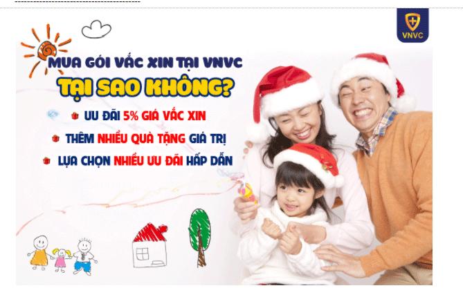 Ưu đãi tháng 11: thêm nhiều quà tặng cho khách hàng mua GÓI VẮC XIN