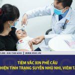 Tiêm vắc xin phế cầu có cải thiện tình trạng suyễn nhũ nhi, viêm tai giữa?