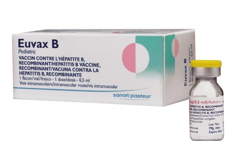 Vắc xin EUVAX B (Hàn Quốc) phòng bệnh viêm gan B