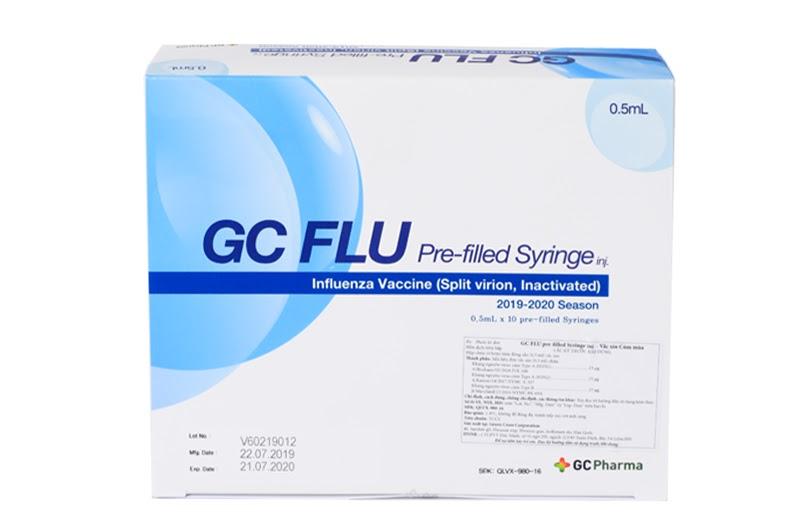 Vắc xin GC FLU (Hàn Quốc) phòng bệnh cúm