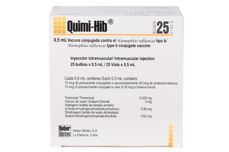 Vắc xin phòng HIB QUIMI-HIB (Cu Ba)