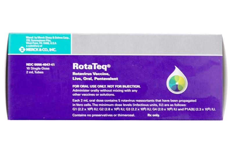 Vắc xin ROTATEQ (Mỹ) phòng tiêu chảy cấp do Rota Virus
