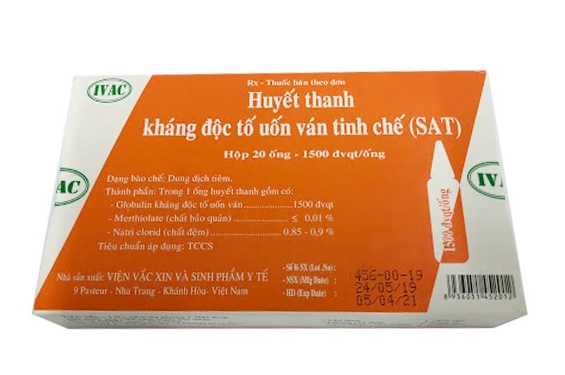 Huyết thanh uốn ván SAT (Việt Nam)
