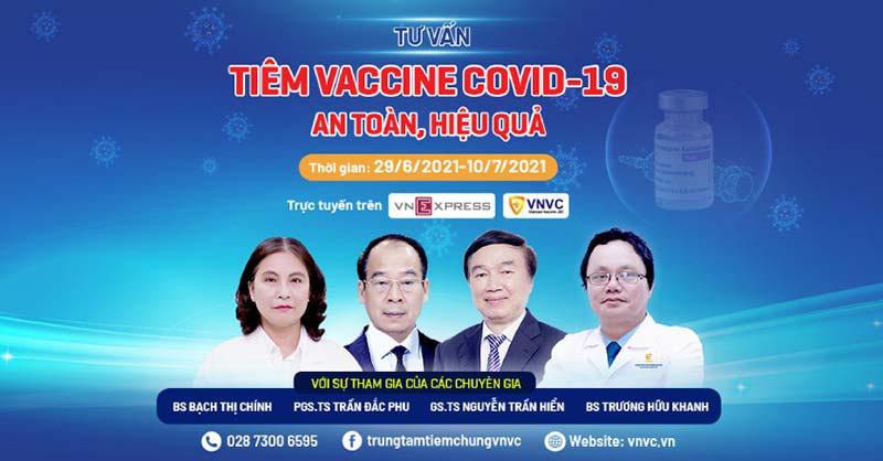 Những điều cần biết về tiêm vắc xin Covid-19: Giải đáp từ A-Z