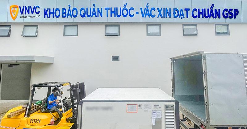 Hơn 10 triệu liều vắc xin Covid-19 của AstraZeneca đã được VNVC đưa về Việt Nam