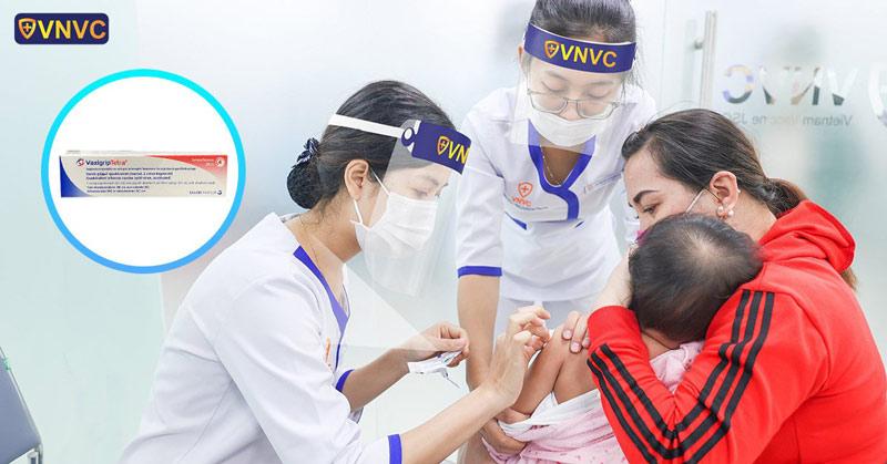 Lần đầu tiên tại Việt Nam, VNVC triển khai tiêm vắc xin cúm Tứ giá Vaxigrip Tetra