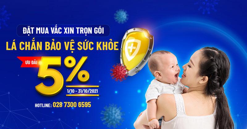 """Ưu đãi 5% Gói vắc xin tháng 10: Đẩy lùi nguy cơ """"dịch chồng dịch"""" sau giãn cách xã hội"""